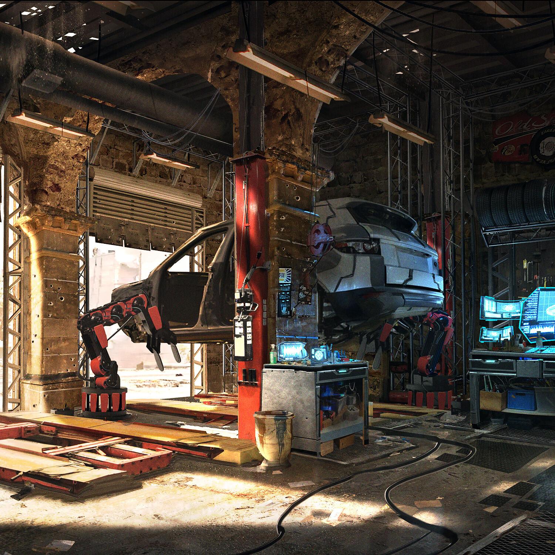 Auto Shop 2037