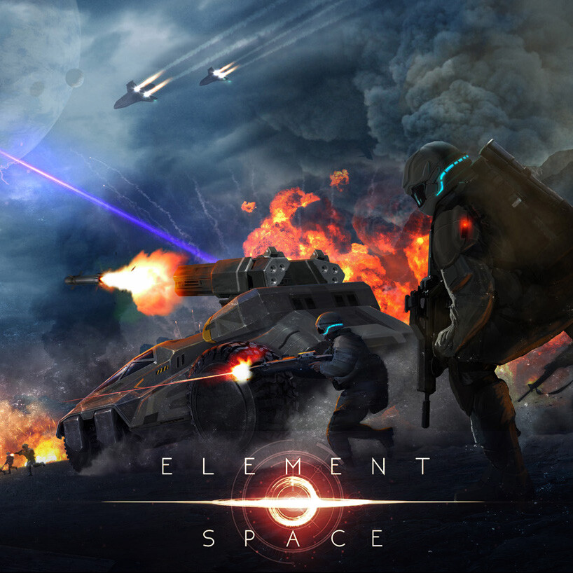 """ELEMENT SPACE""- VIDEO GAME"