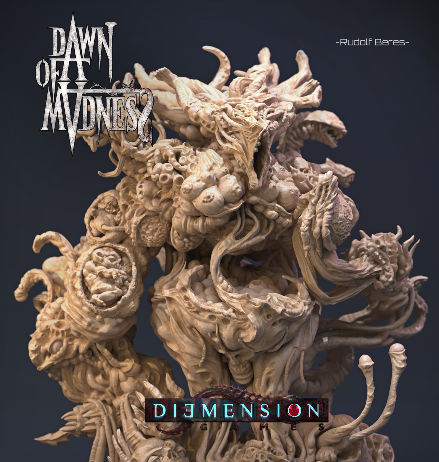 Dawn of Madness Statue Sub-Niggurath_Miniatur