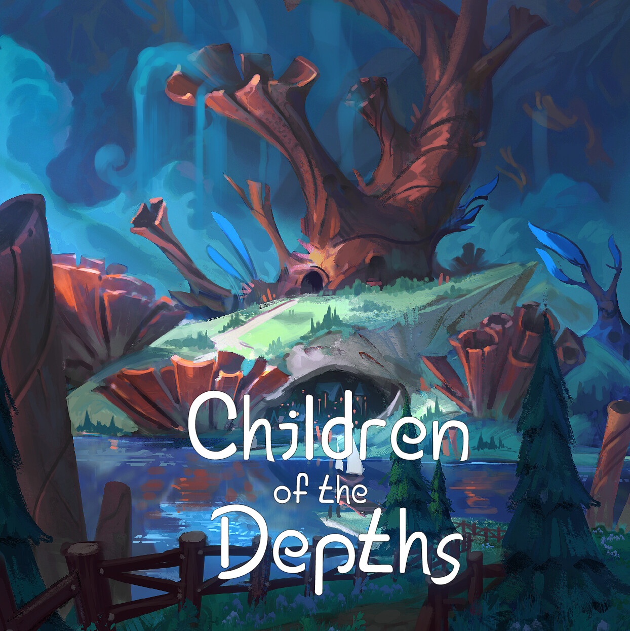 Children of the depths - Coral town
