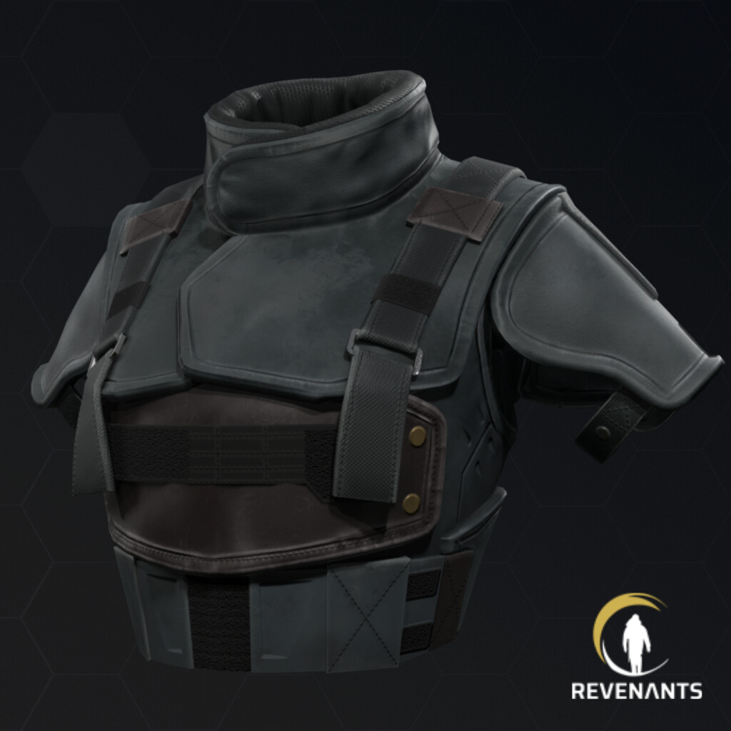 Bolt's Ballistic vest - Revenants