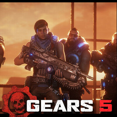 Gears 5 cinematic storyboards - Rocket Launch
