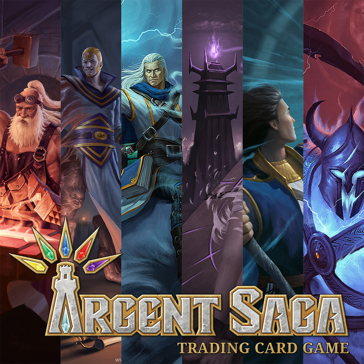 Illustrations for Argent Saga TCG - Demo Deck