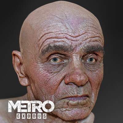 K o r e y b a neighbour metro exodus dlc1 by character artist oleg koreyba zbrush icon