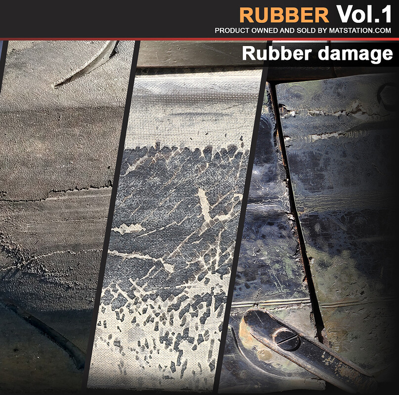 Photo Pack - Rubber - Vol.1