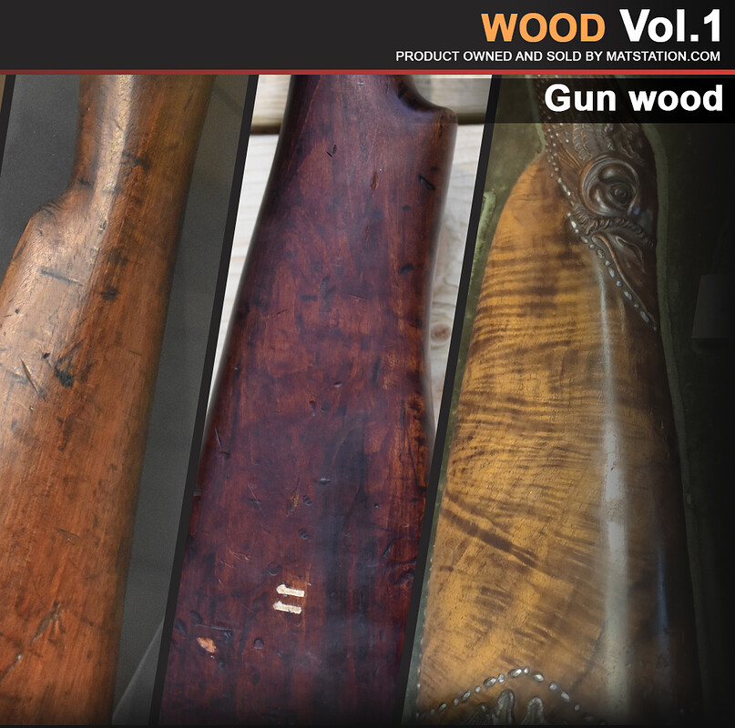 Photo Pack - Wood Reference - Vol.1