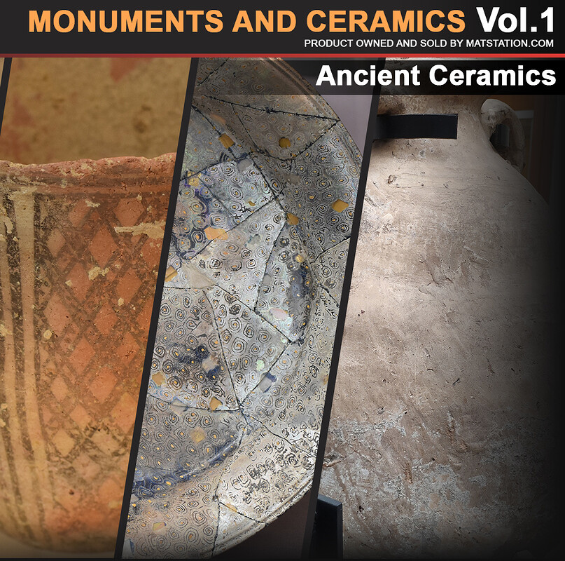 Photo Pack - Monuments and Ceramics - Vol.1