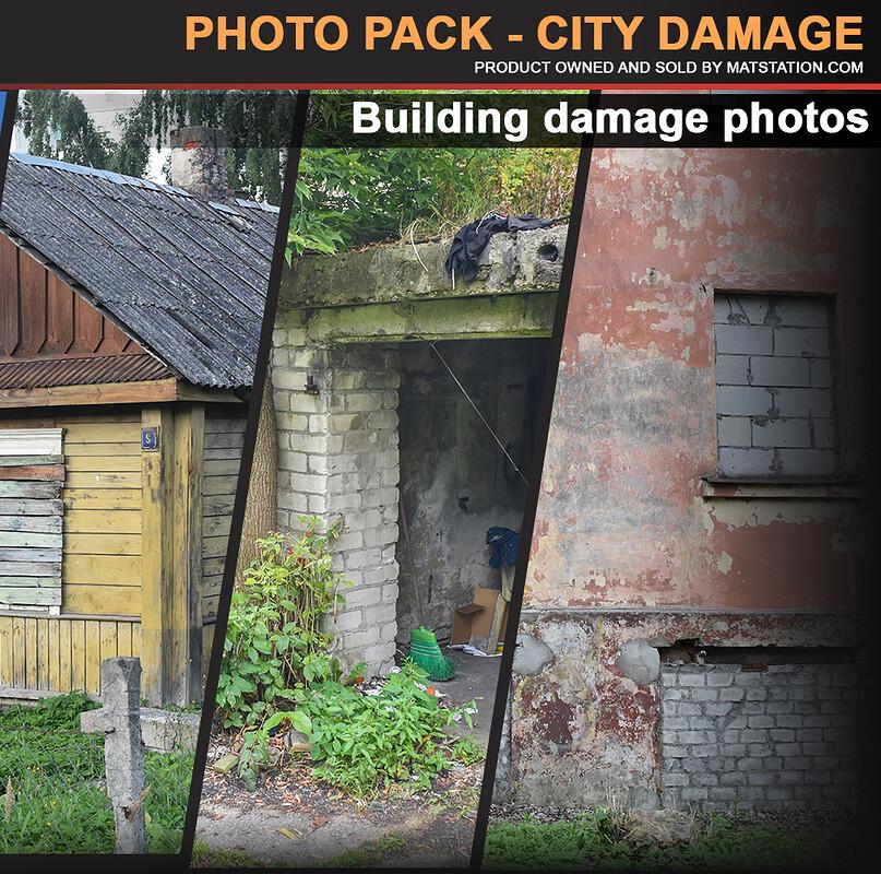 Photo Pack - City Damage