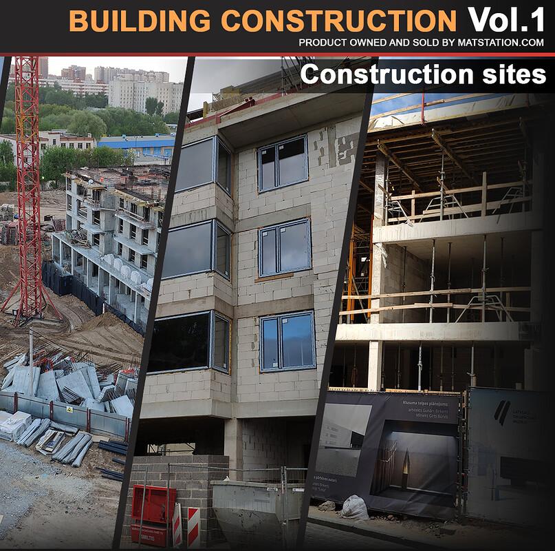 Photo pack - Building Construction Vol.1