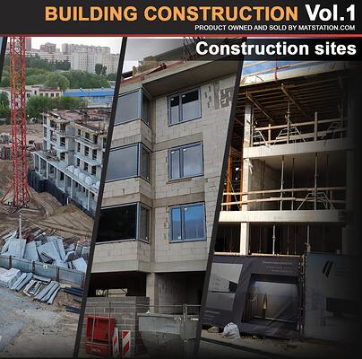 Andrey sarafanov artstation b construction vol 1