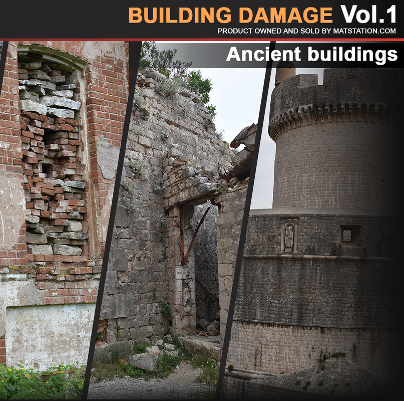 Photo Pack - Building Damage - Vol.1
