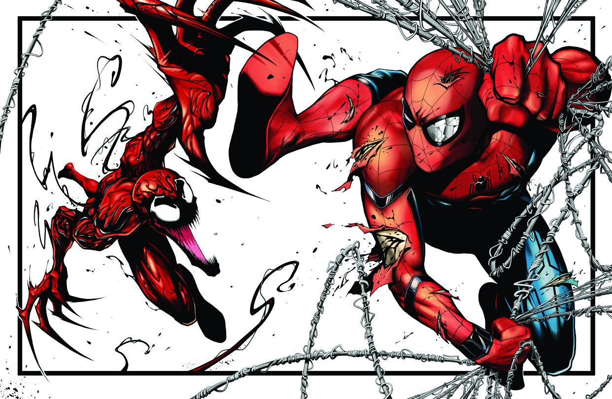 Artstation Spider Man Vs Carnage Donny D Tran