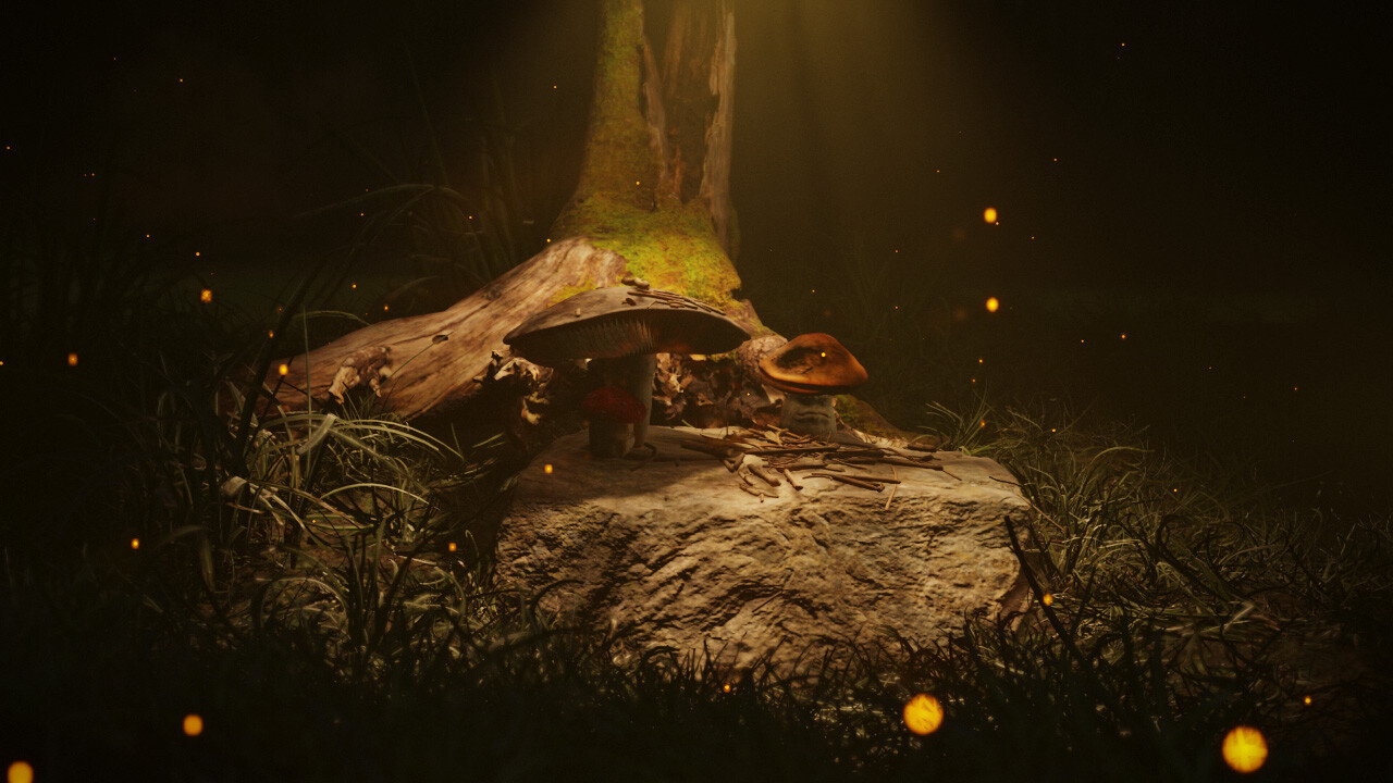 The silence of the mushrooms