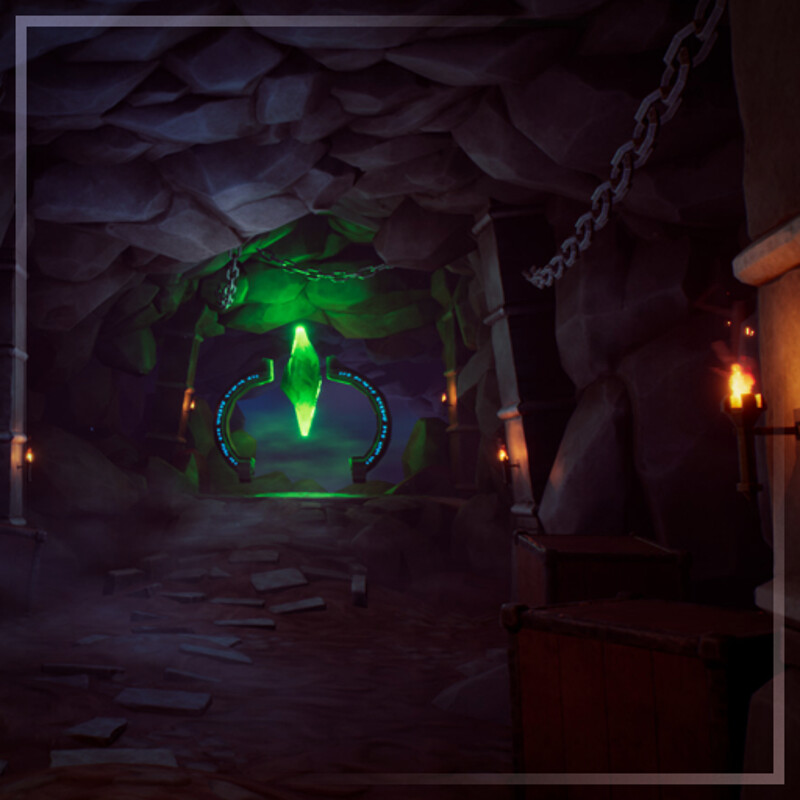 Stylised Cave Altar - UE4 PBR