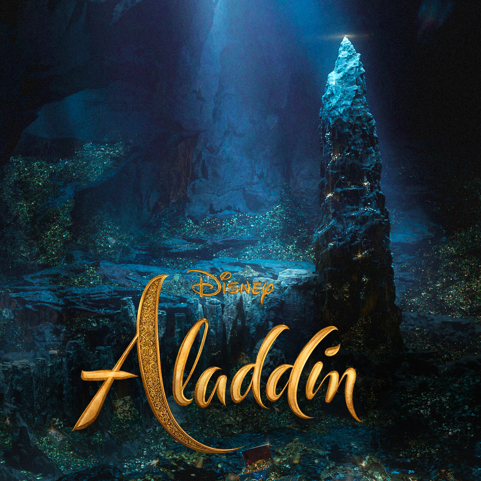 Aladdin. VFX work for the Cave