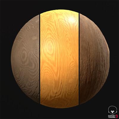 Procedural Material: Wood