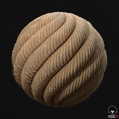 Procedural Material: Rope