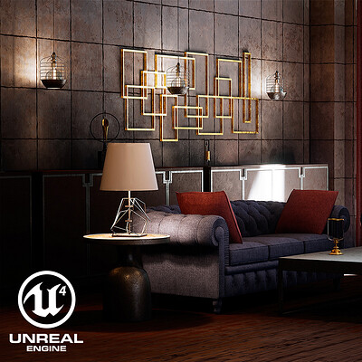 UE4 ArchViz Scene - Lighting & Composition