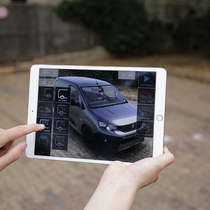 Peugeot Utility AR