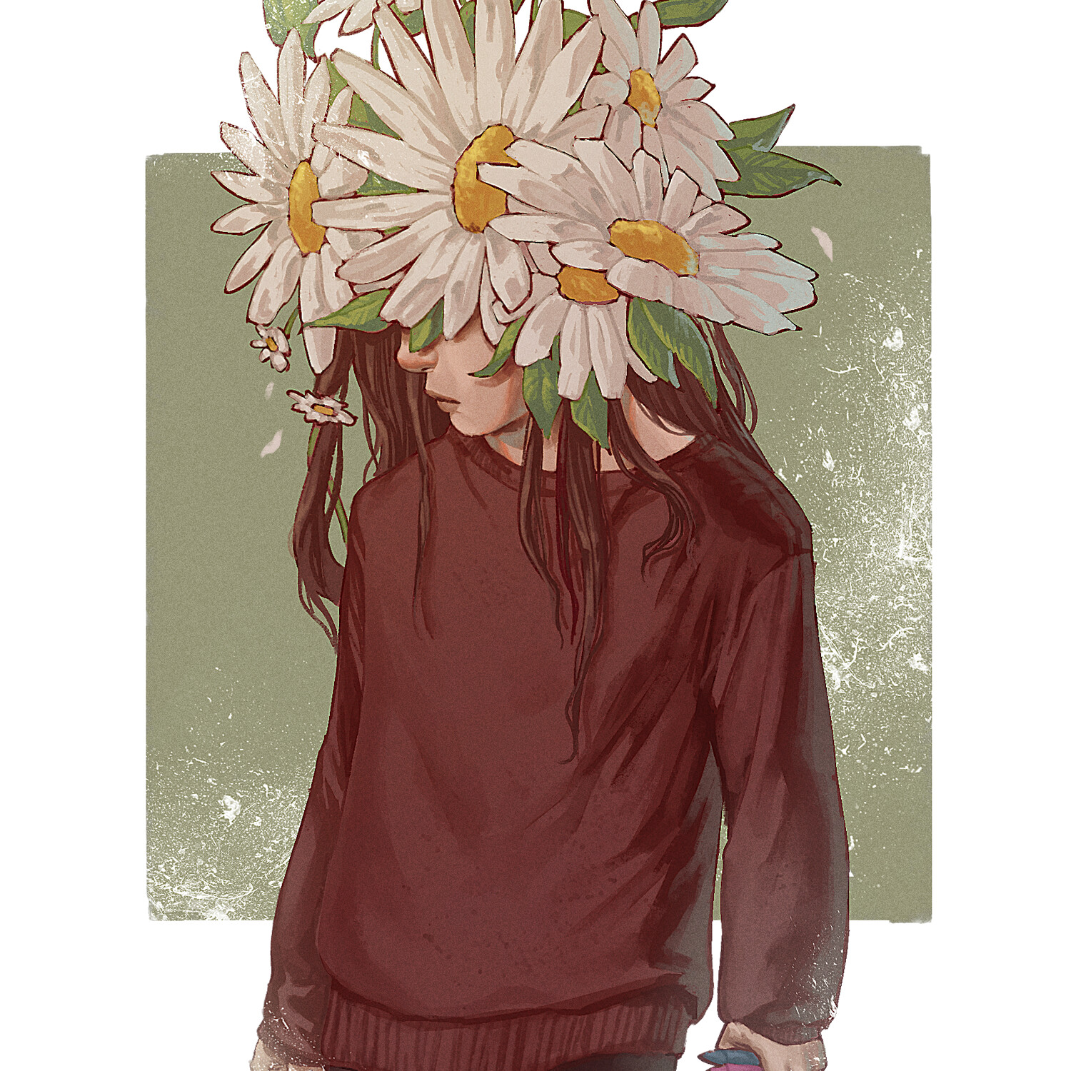 Care and the daisies