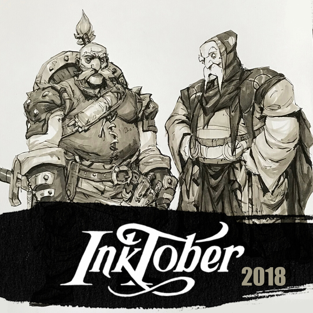 Inktober 2018: Collection 2