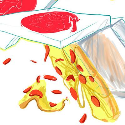 Yokai noodles buddha beatz pizza xl