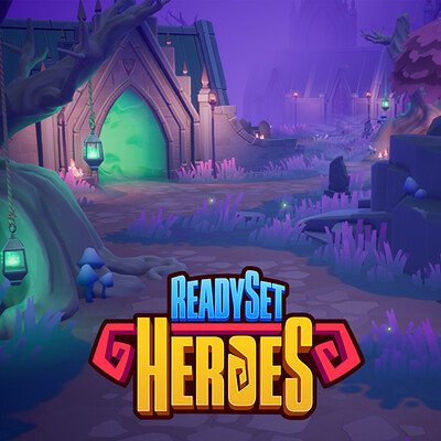 ReadySet Heroes Level Art