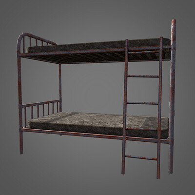 Fallout 4: New Vegas Bunk Beds