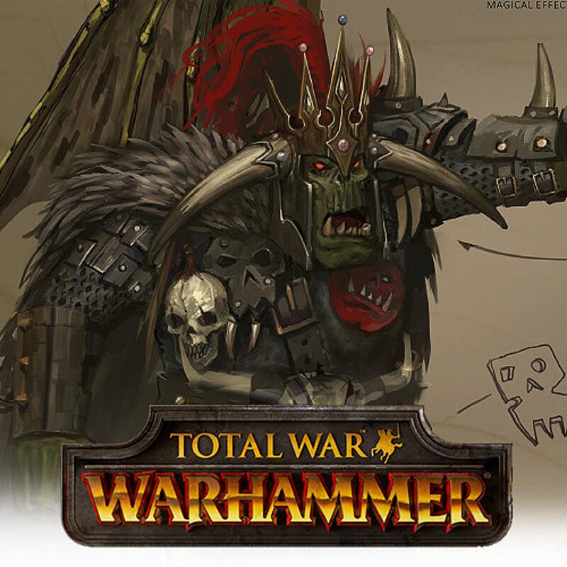 Total War: Warhammer Concept Art - Azhag the Slaughterer