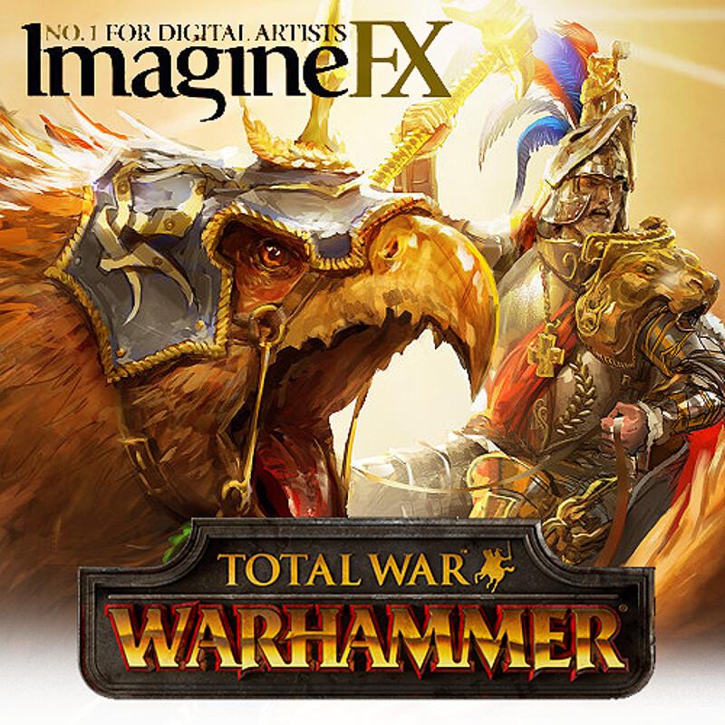 ImagineFX Total War: Warhammer cover