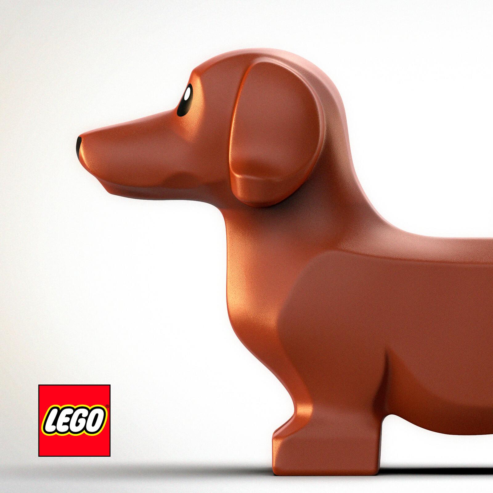 LEGO Wiener Dog
