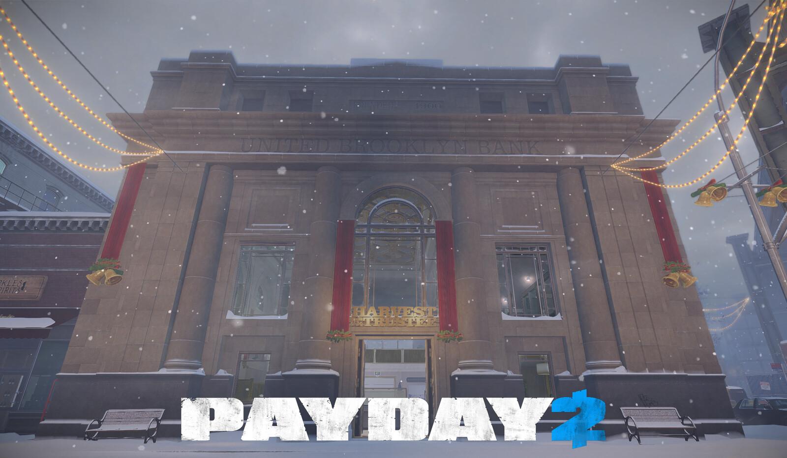 Payday 2: Brooklyn Bank