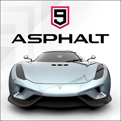 Ferran adzara hernandez asphalt9 artstation cool logo