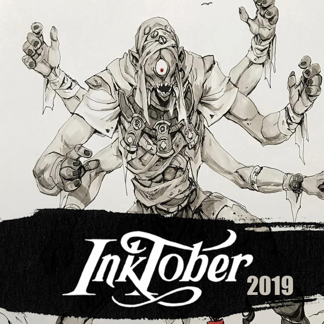 Inktober 2019: Week 1