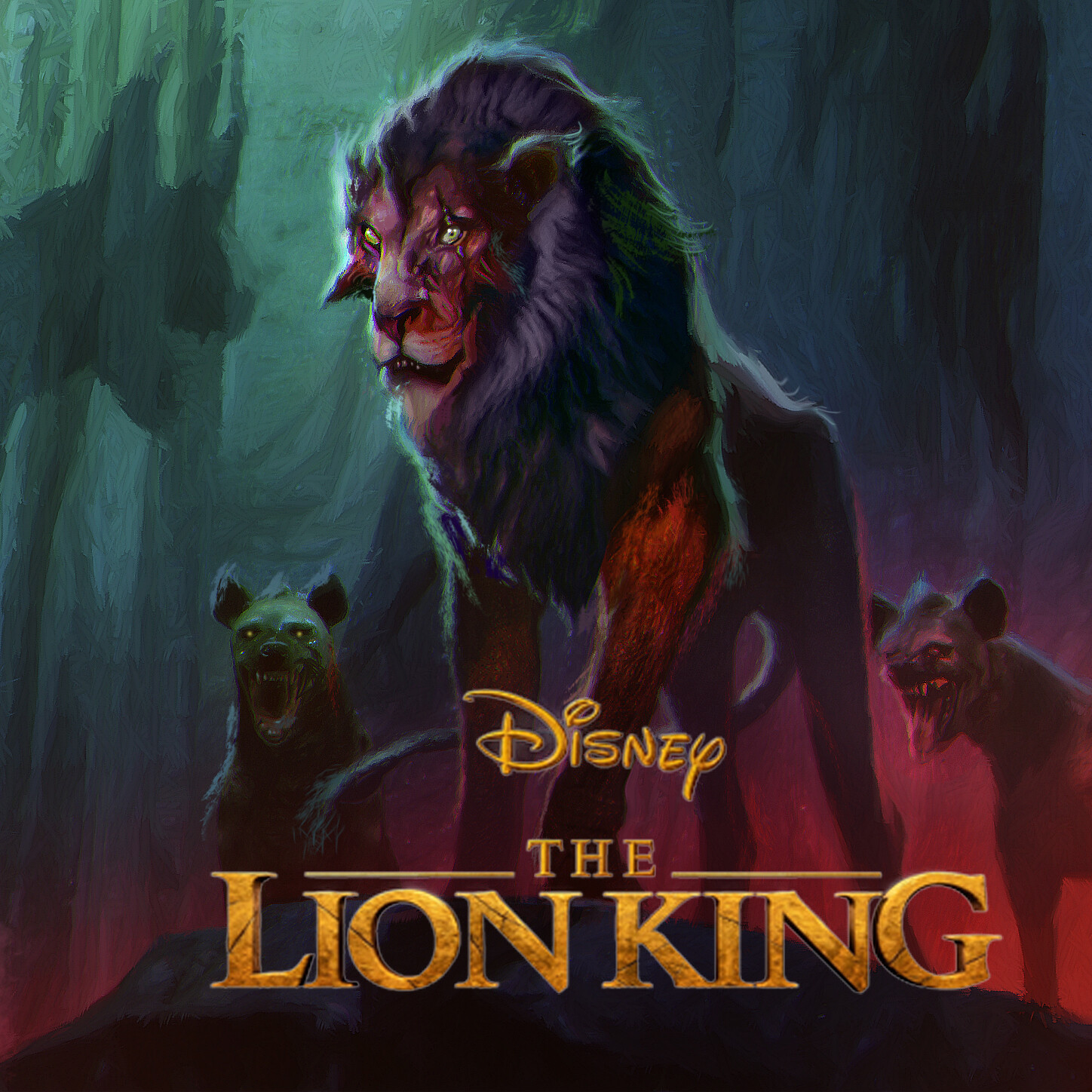 Artstation The Lion King 2019 Early Key Art Aaron Mcbride
