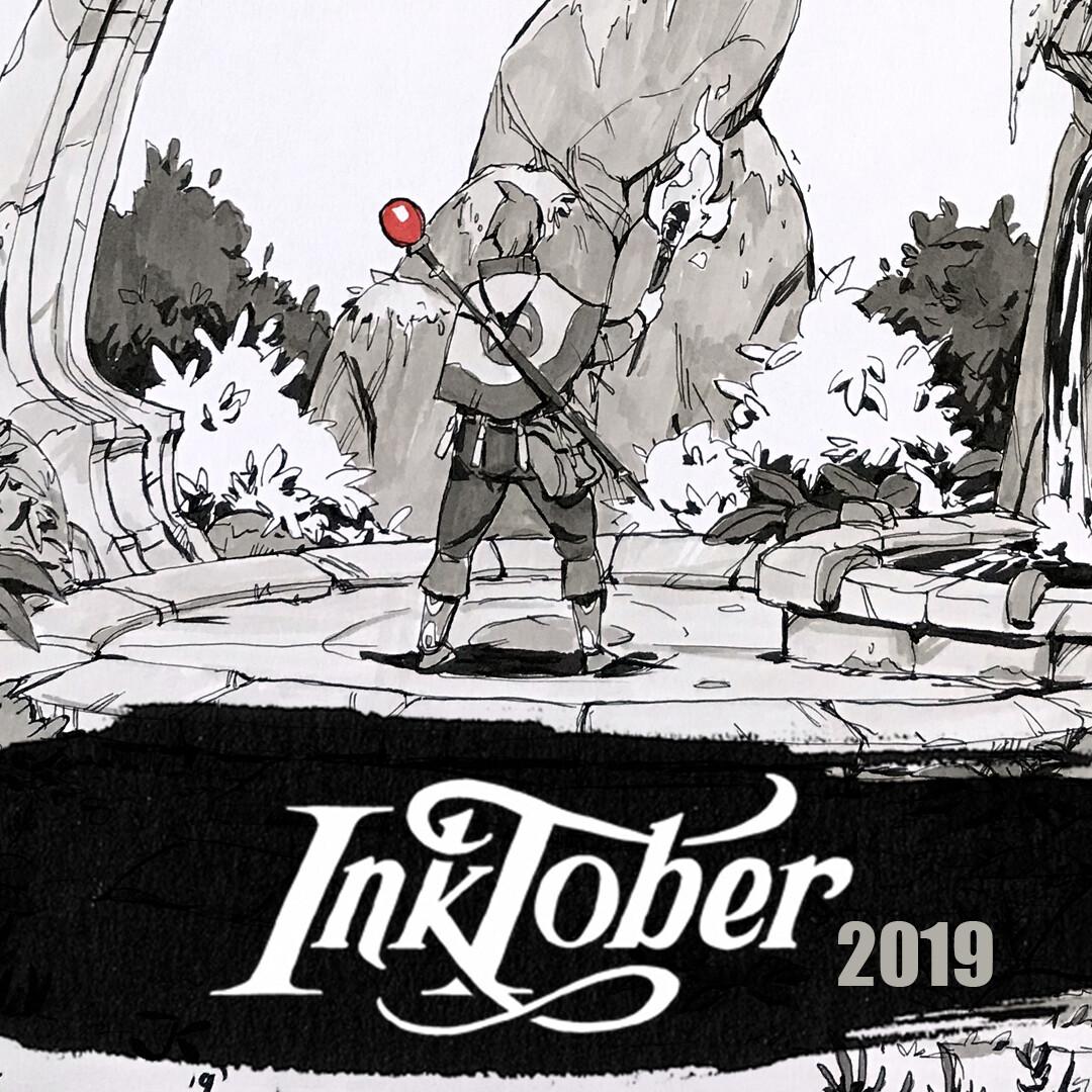 Inktober 2019: Week 2