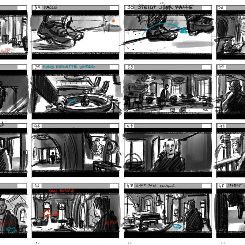 Blade Runner 2049 Storyboard study