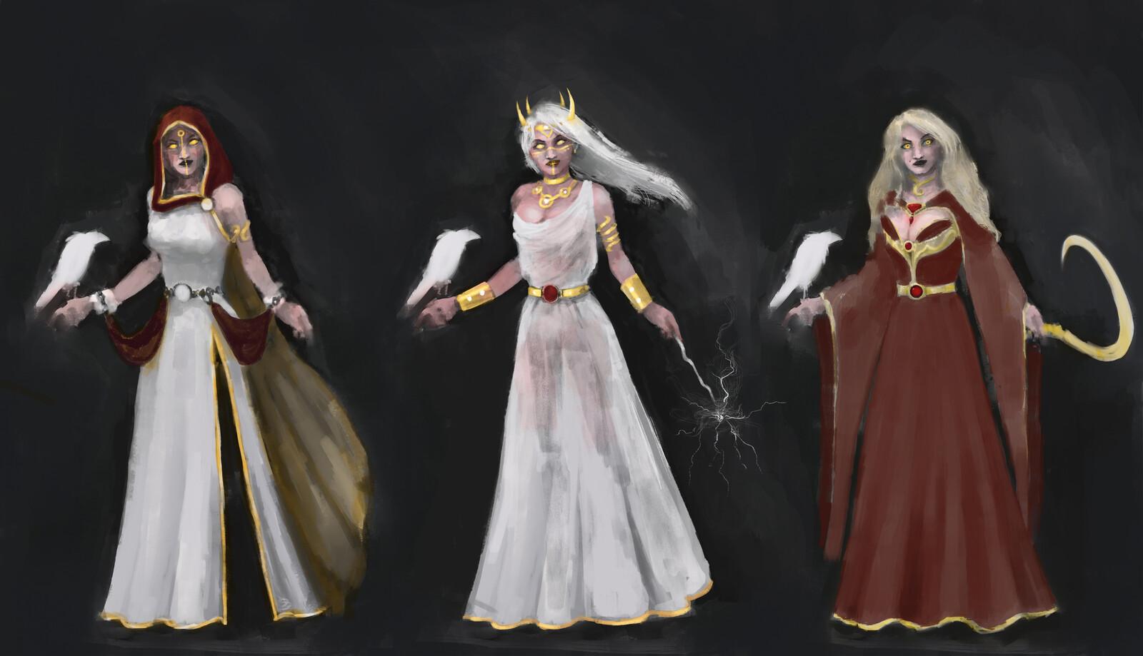 Necromant Snow White - Character Design