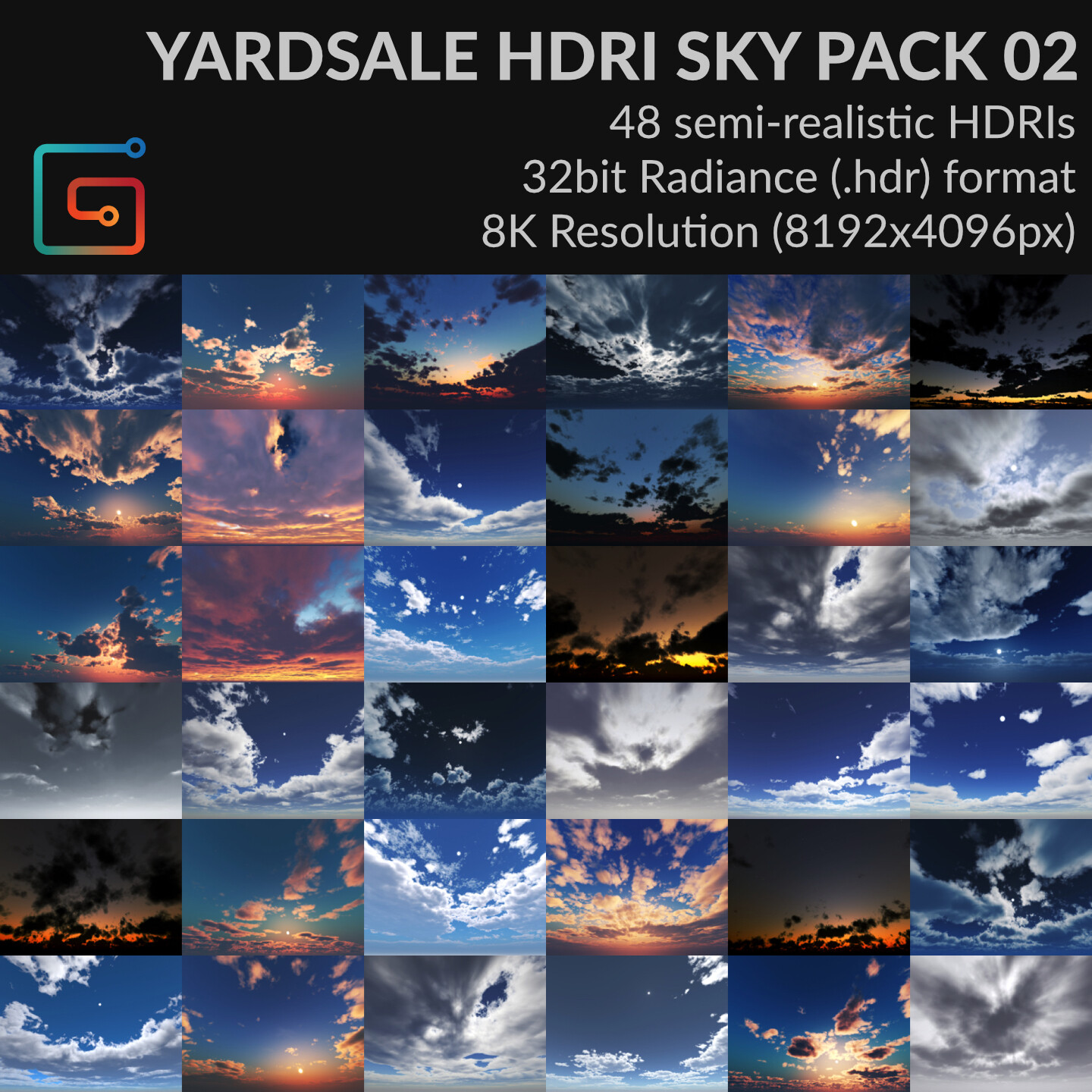 YARDSALE HDRI SKY PACK 02