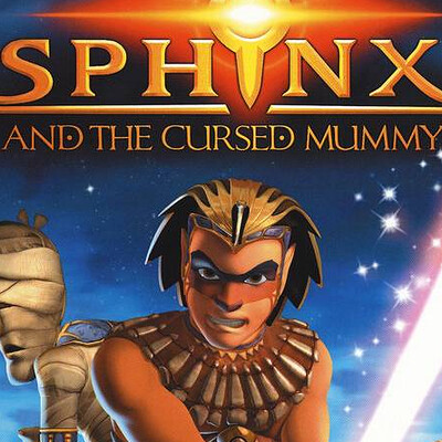 Darren weekes sphinx and the cursed mummy
