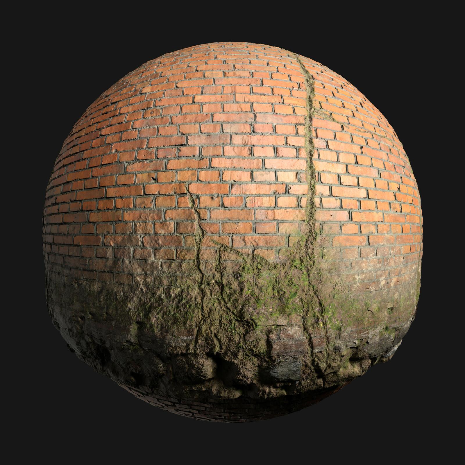 Brick Overgrown