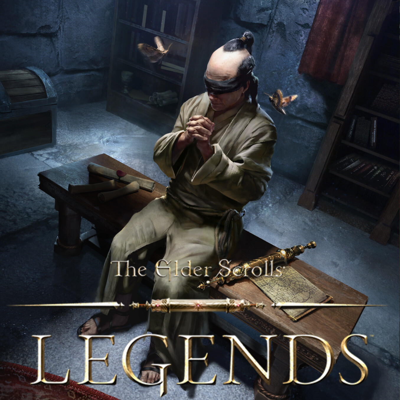 Blind Moth Priest - The Elder Scrolls: Legends