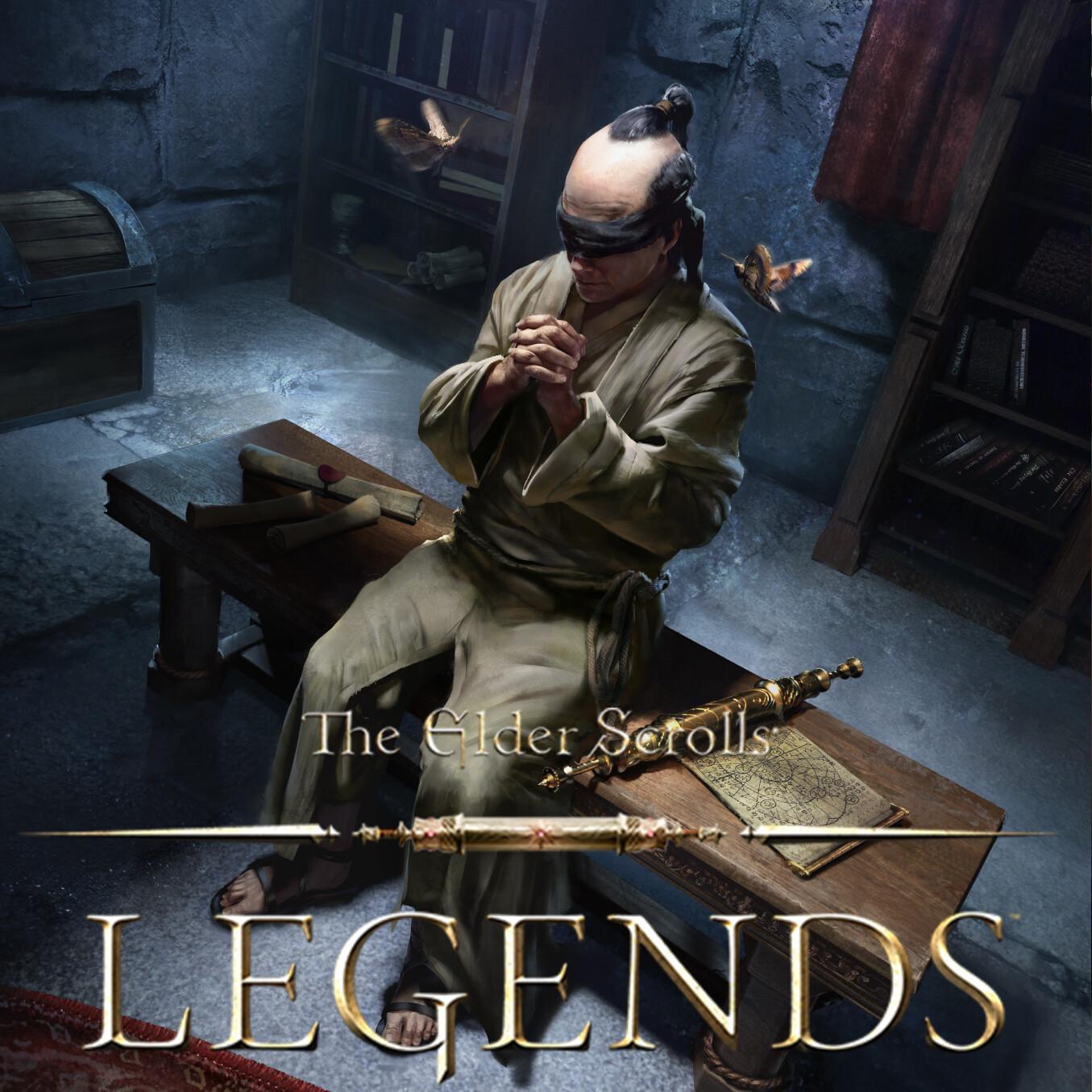 Blind Moth Priest - The Elder Scrolls: Legends