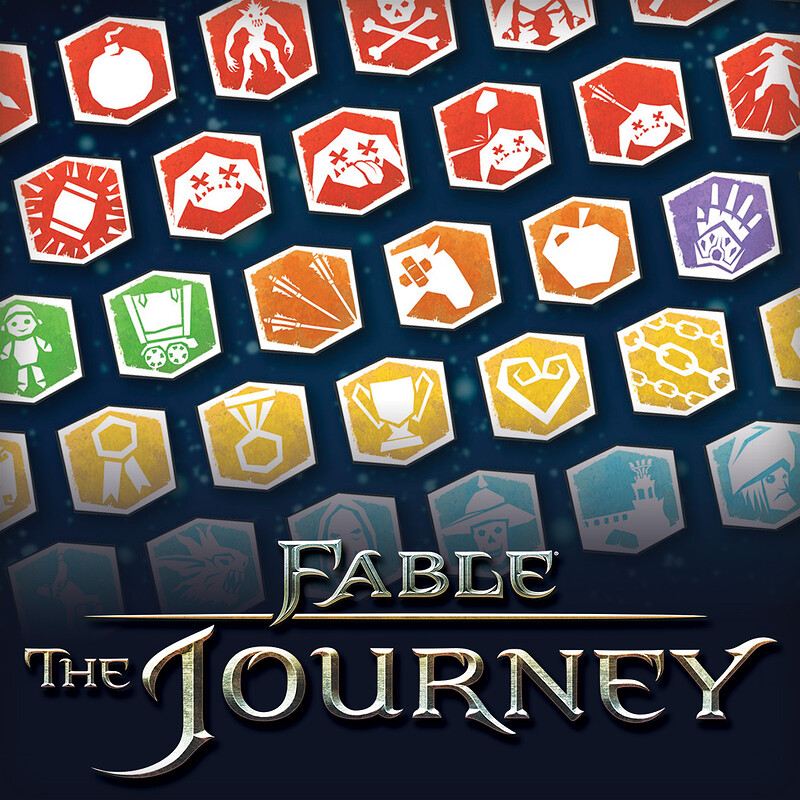 Fable The Journey - Achievement Icons