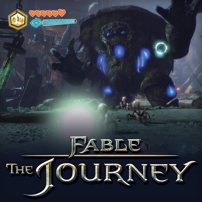 Fable The Journey - HUD