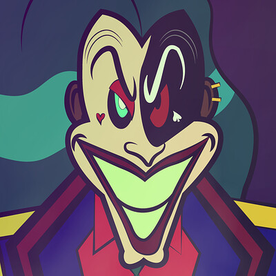 Larry springfield joker 2