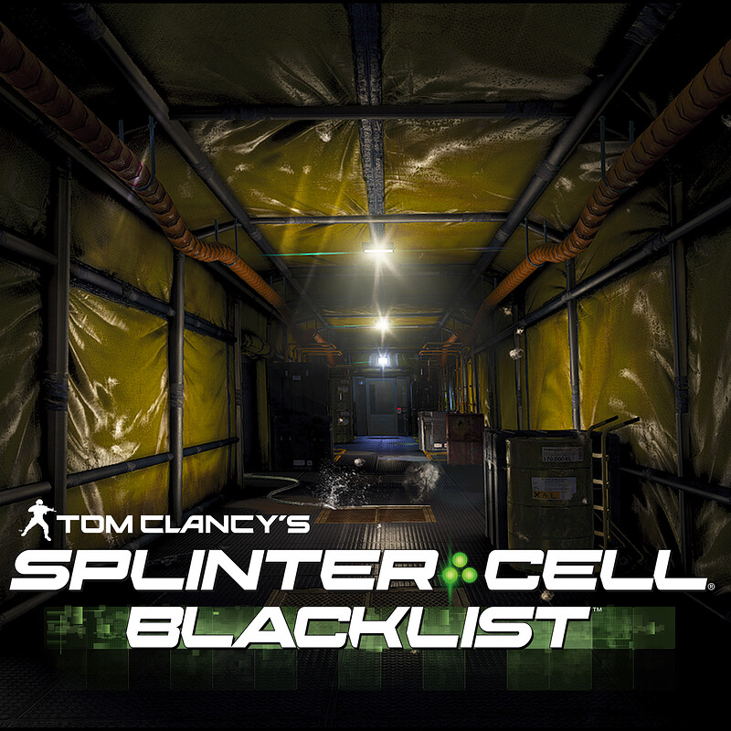 Splinter Cell: Blacklist [Abandoned Mill]  [Modelling|Level Art]