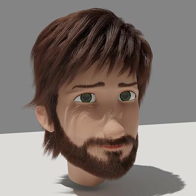 Chuong tran final render beard