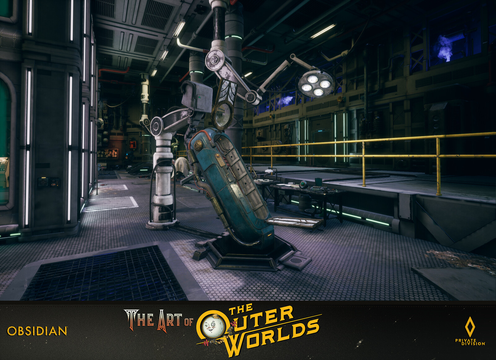 The Outer Worlds Phineas Welles Science Lab