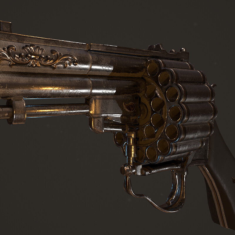 30 Shot Revolver